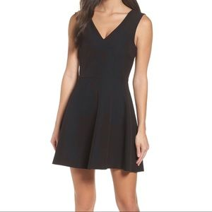 Felicity and Coco Bianca Fit and Flare Black Dress